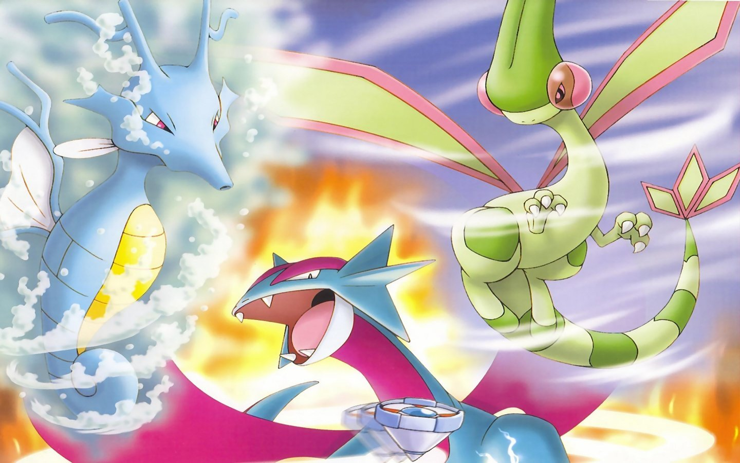 Awesome Flygon (Pokemon) free background ID:278762 for hd 1440x900 PC