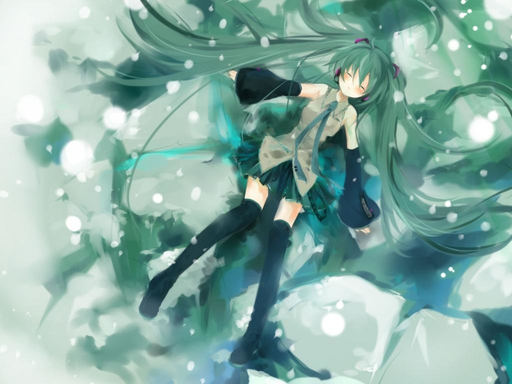 Awesome Hatsune Miku free background ID:2771 for hd 1024x768 PC