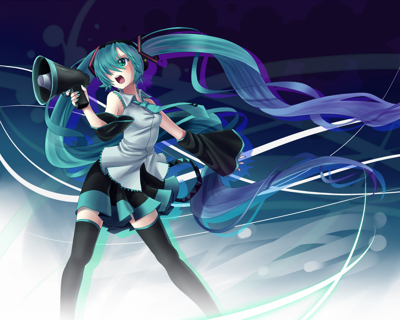 Best Hatsune Miku background ID:4382 for High Resolution hd 1280x1024 desktop