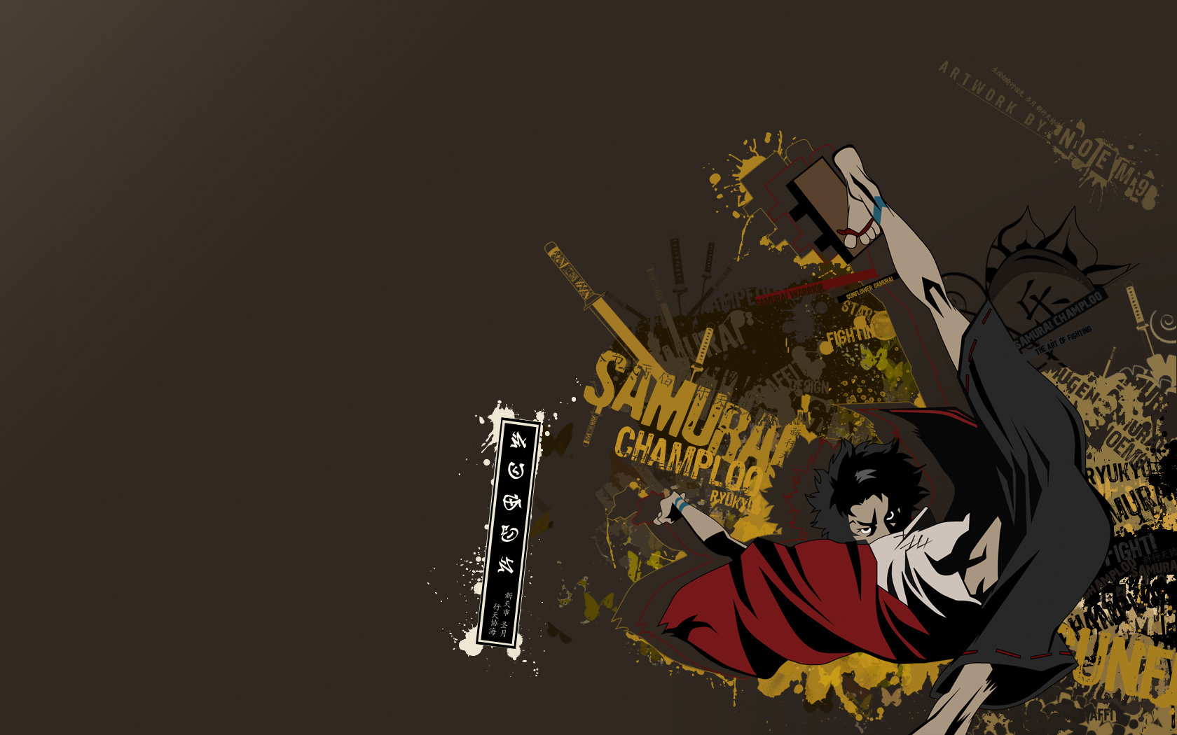 Awesome Samurai Champloo free background ID:341960 for hd 1680x1050 computer