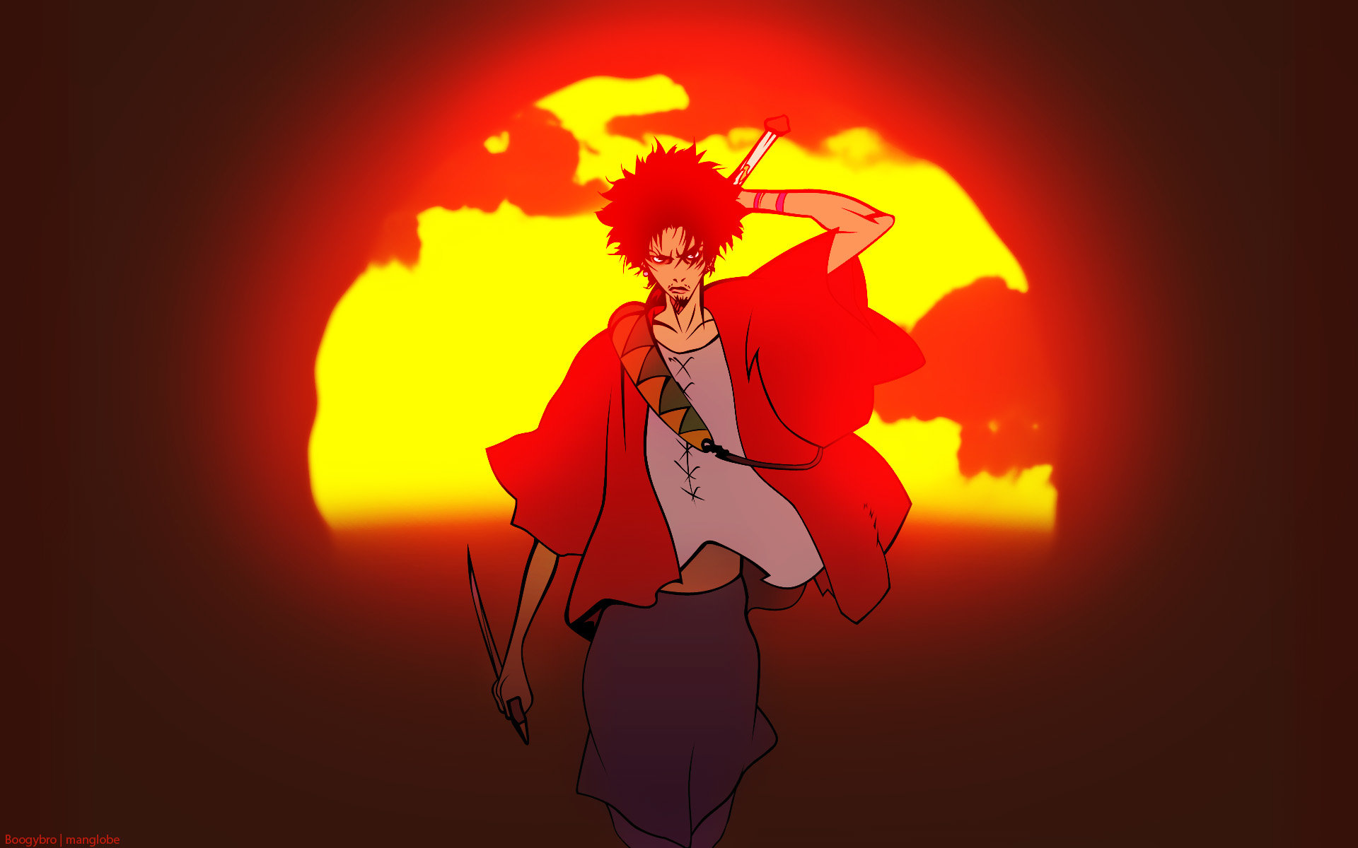 Free download Samurai Champloo background ID:341923 hd 1920x1200 for computer