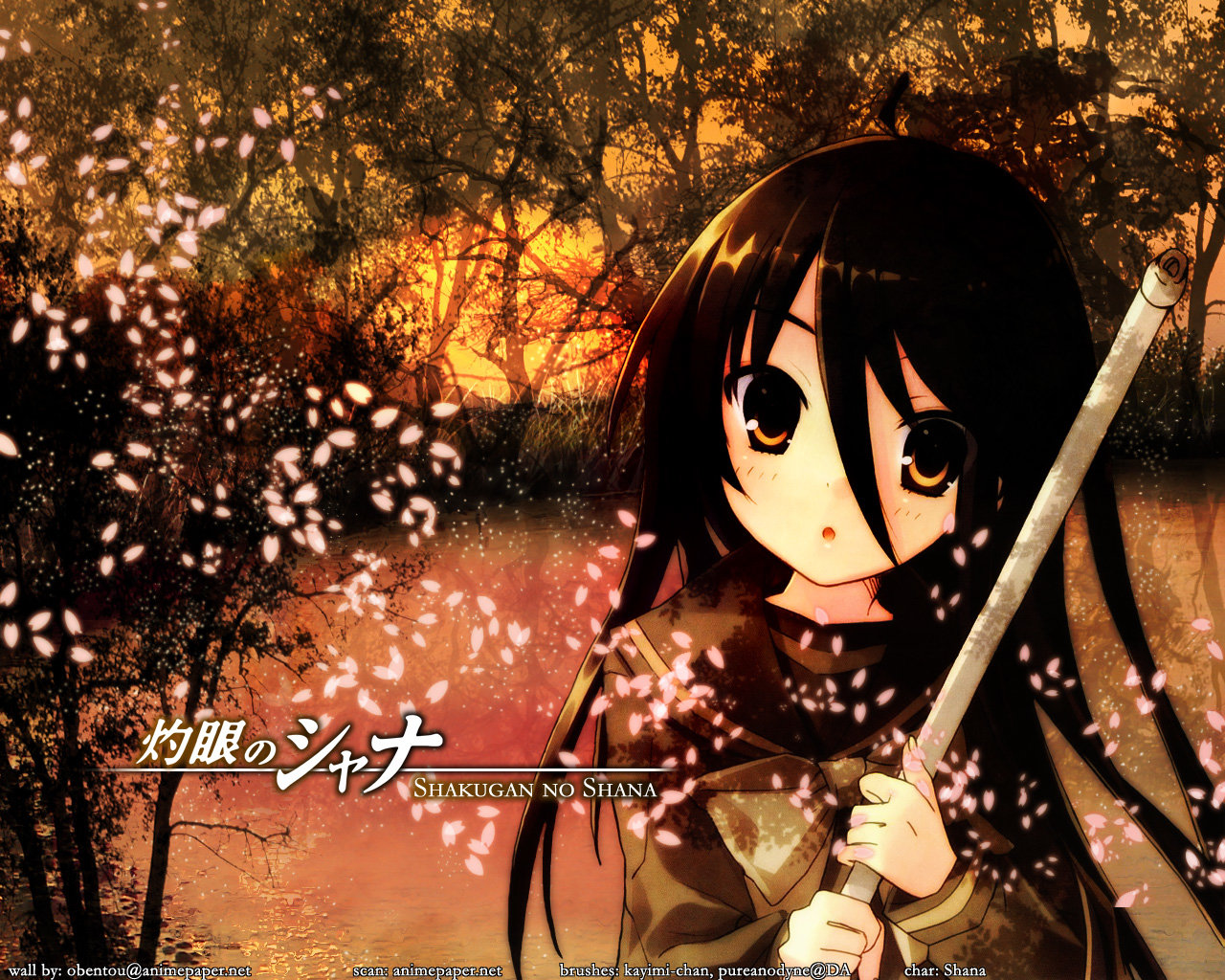 Download hd 1280x1024 Shakugan No Shana desktop wallpaper ID:284647 for free