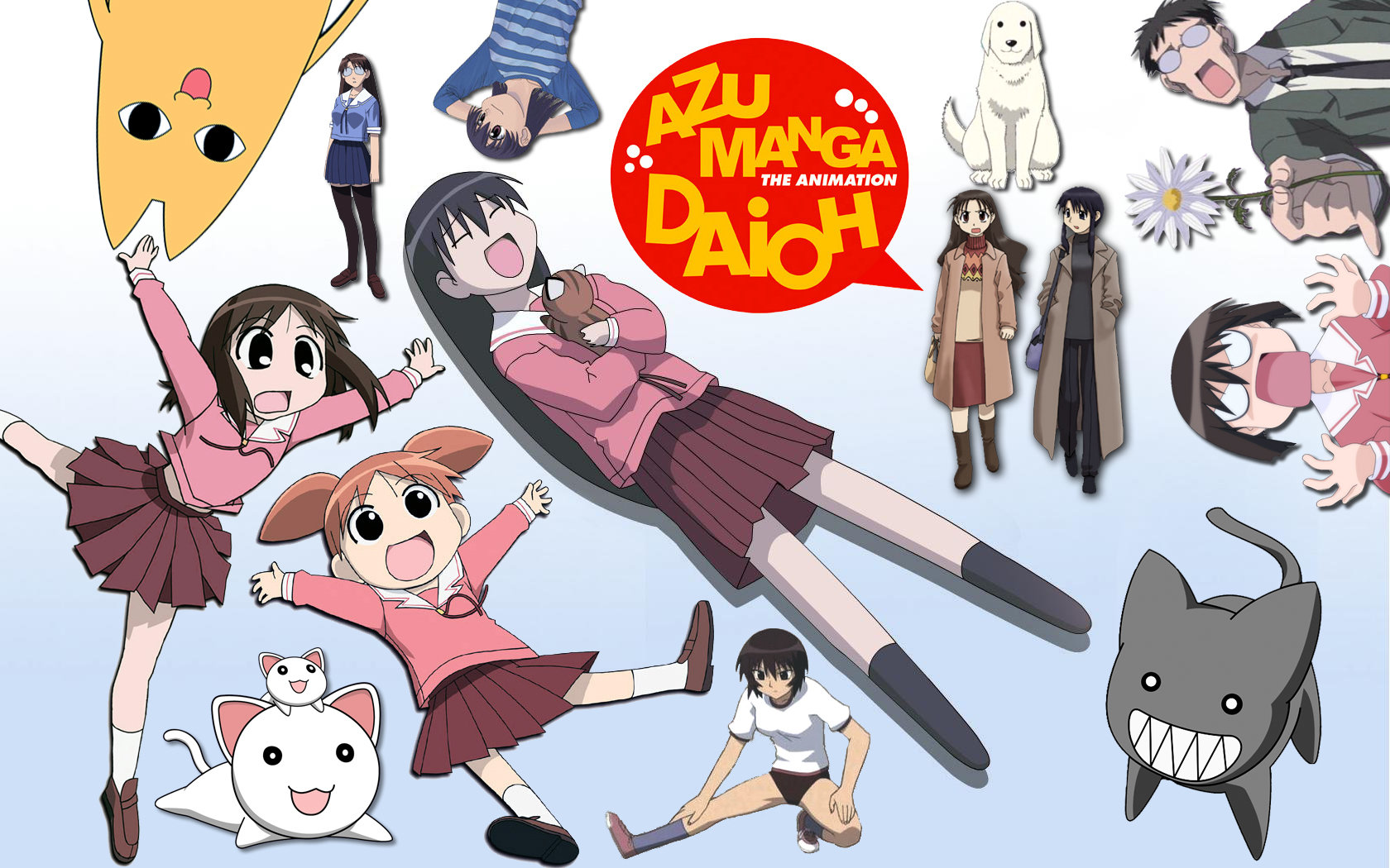Download hd 1680x1050 Azumanga Daioh PC background ID:374348 for free