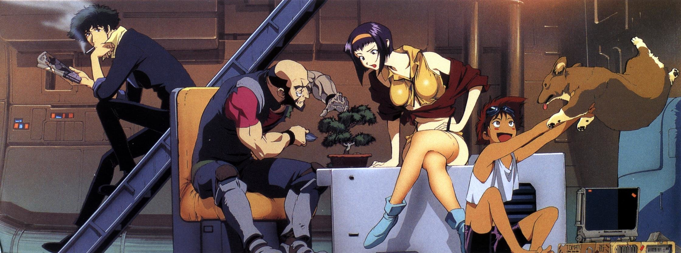 Best Cowboy Bebop wallpaper ID:54182 for High Resolution dual screen 2240x832 PC