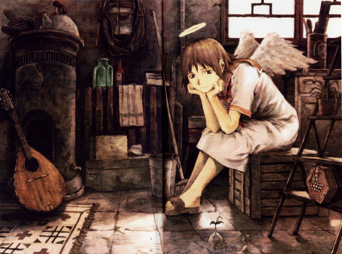 Awesome Haibane Renmei free background ID:467868 for hd 1120x832 desktop