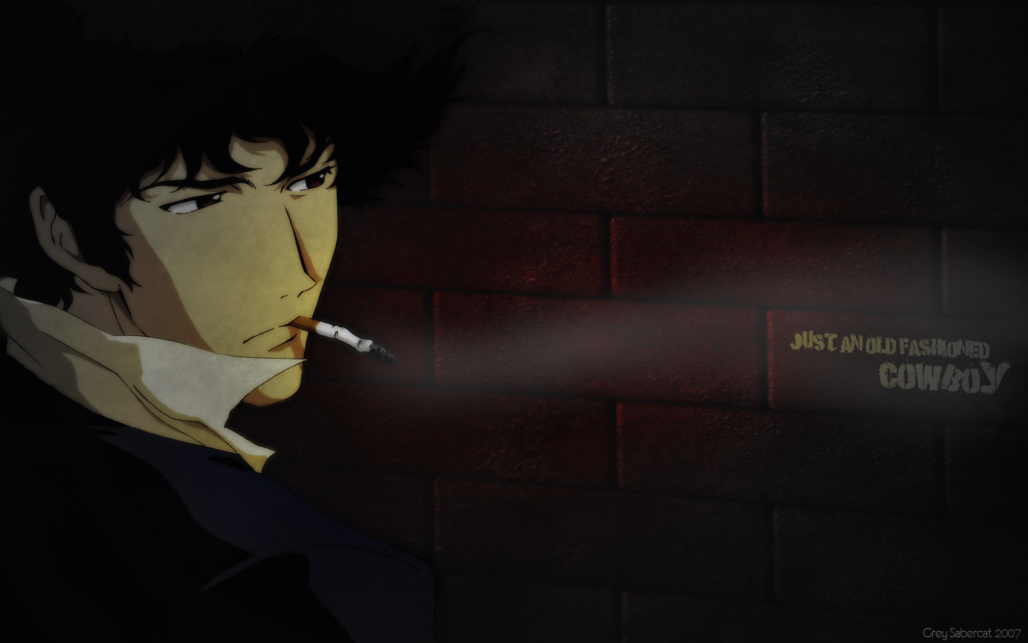Download hd 1440x900 Spike Spiegel PC background ID:54276 for free