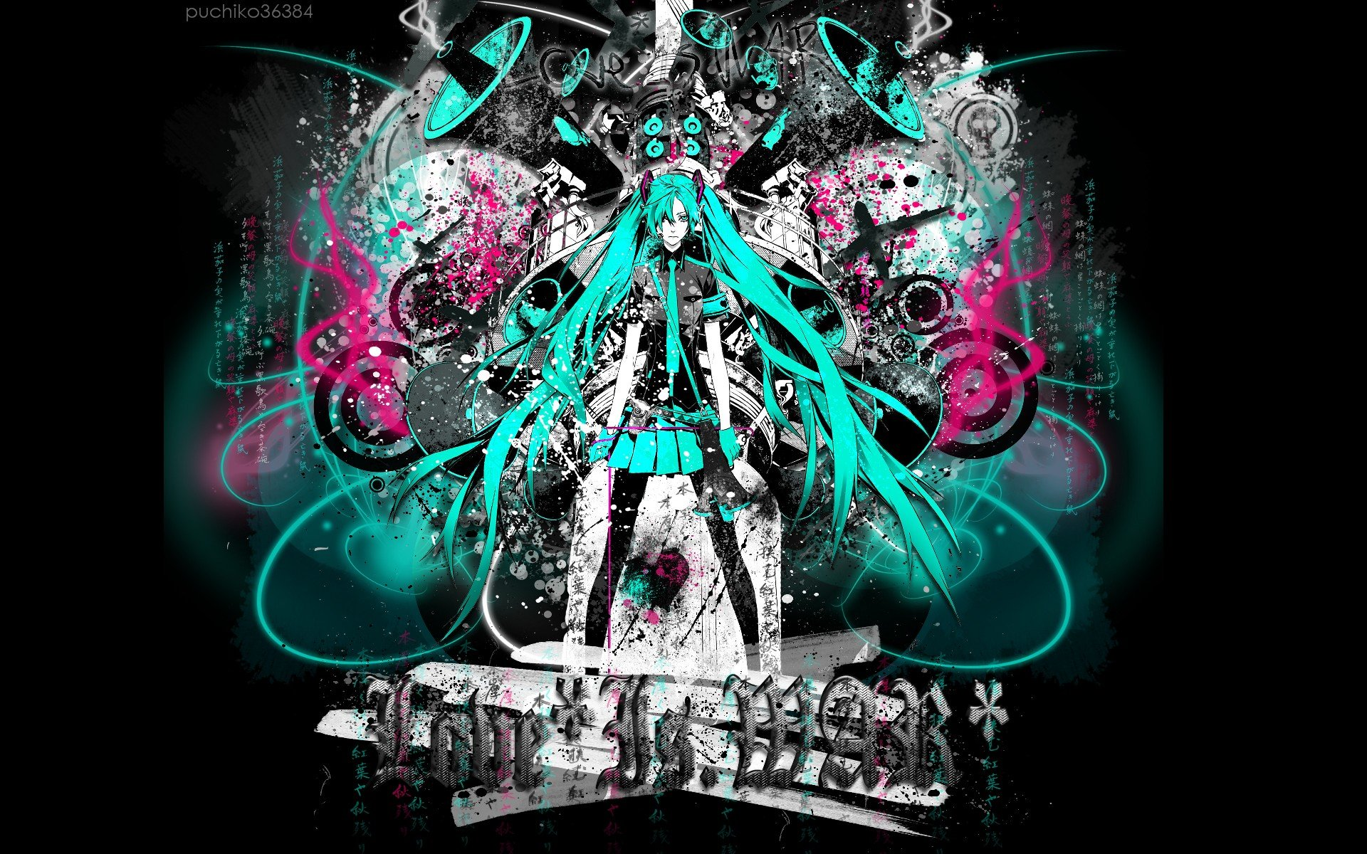 Download hd 1920x1200 Vocaloid computer wallpaper ID:805 for free