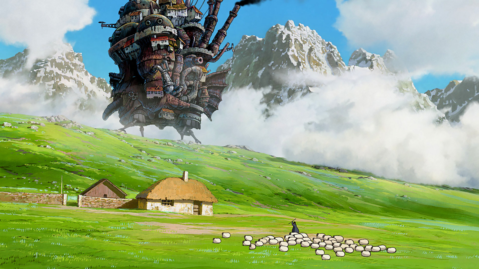 Free download Howl's Moving Castle wallpaper ID:347857 full hd 1080p for PC