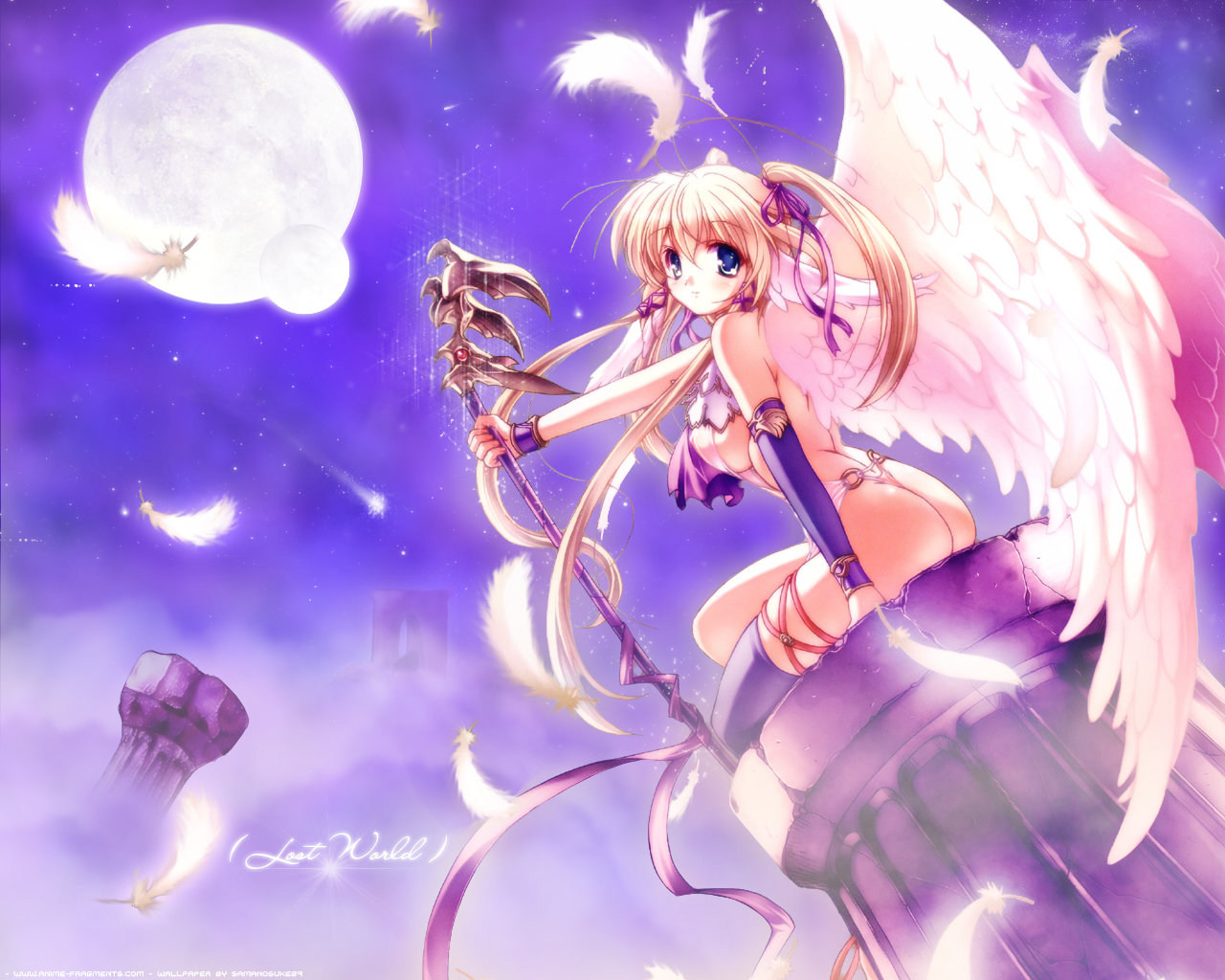 Awesome Angel Anime free wallpaper ID:61910 for hd 1280x1024 desktop