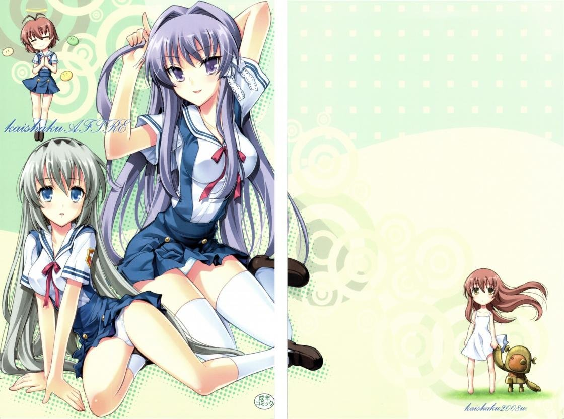 Download hd 1120x832 Clannad computer background ID:316439 for free