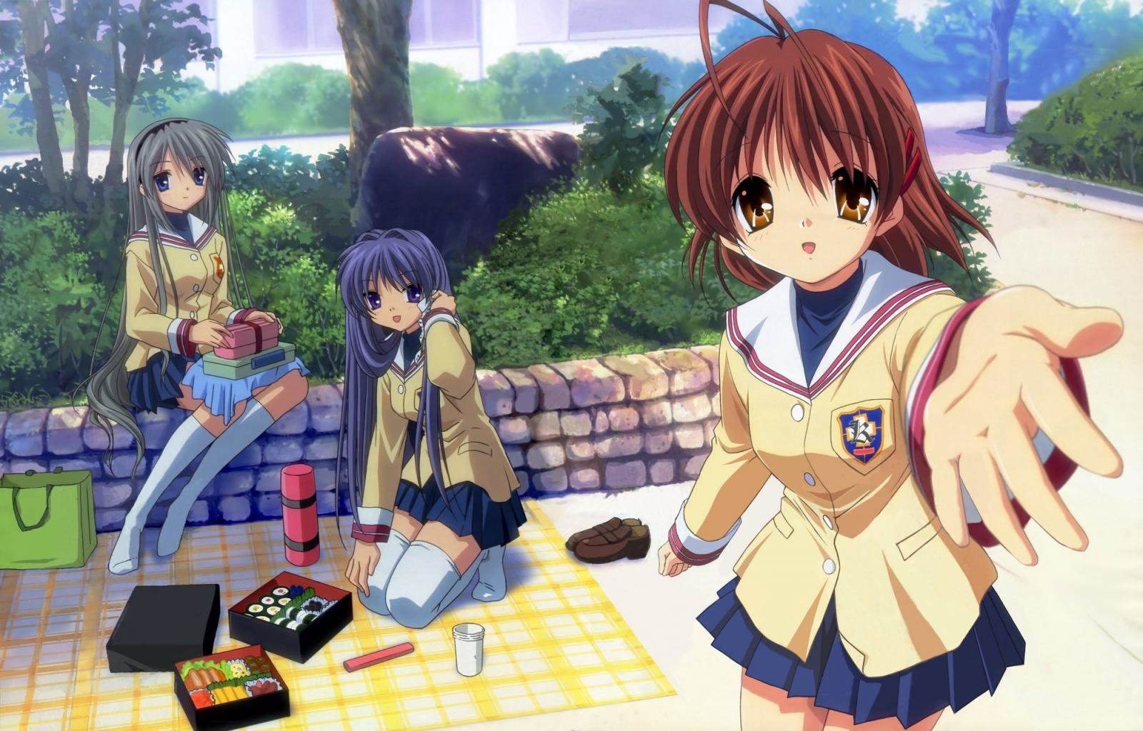Awesome Clannad free wallpaper ID:318367 for hd 1600x1024 computer