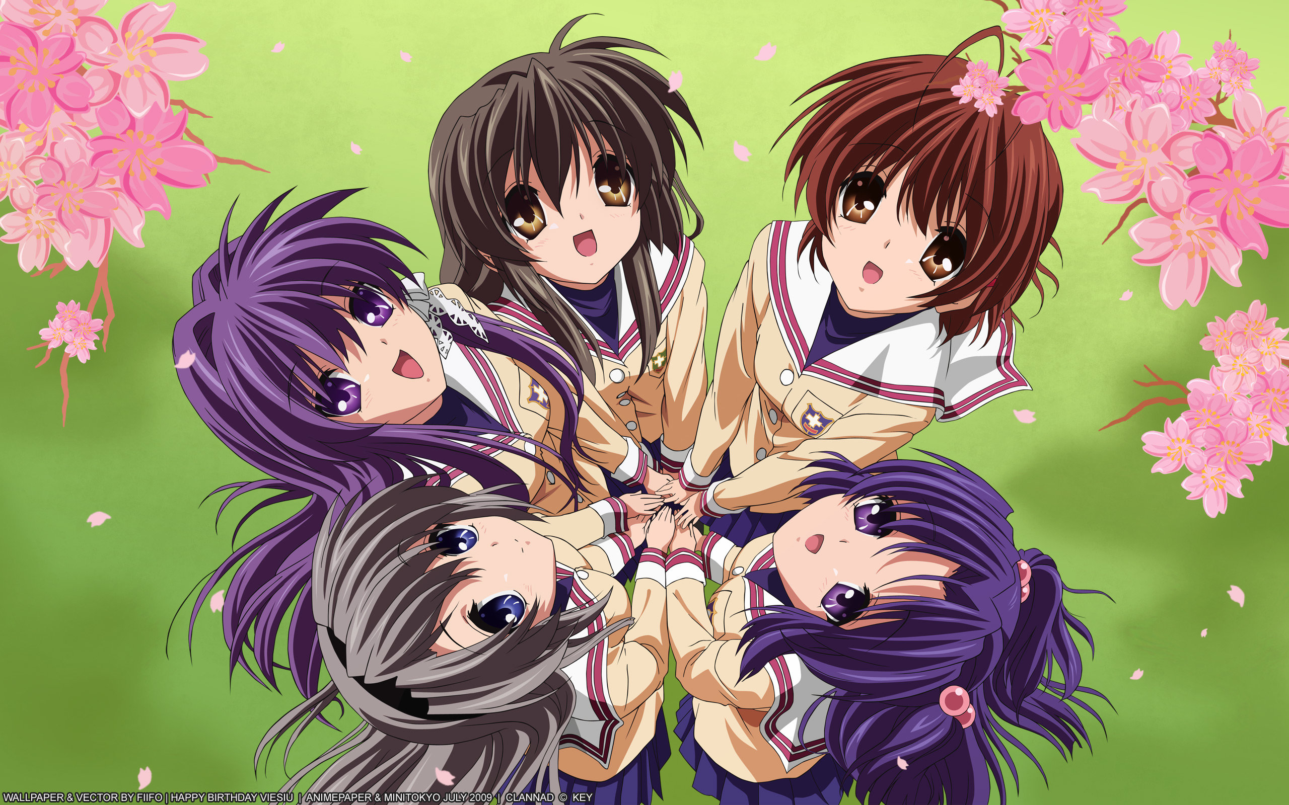 Download hd 2560x1600 Clannad desktop wallpaper ID:316440 for free