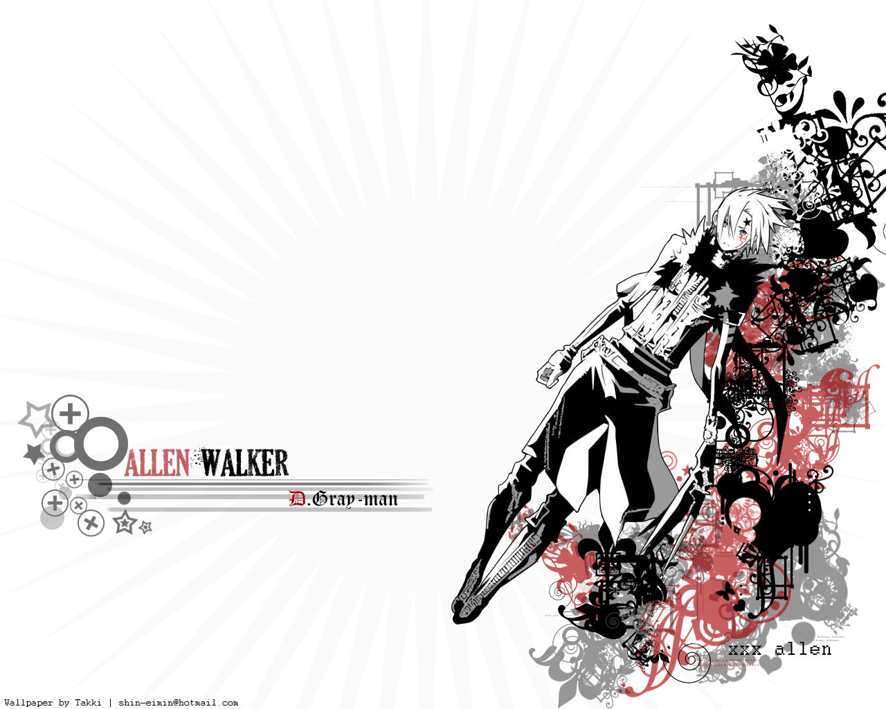 Free download D.Gray-man background ID:26878 hd 1280x1024 for desktop