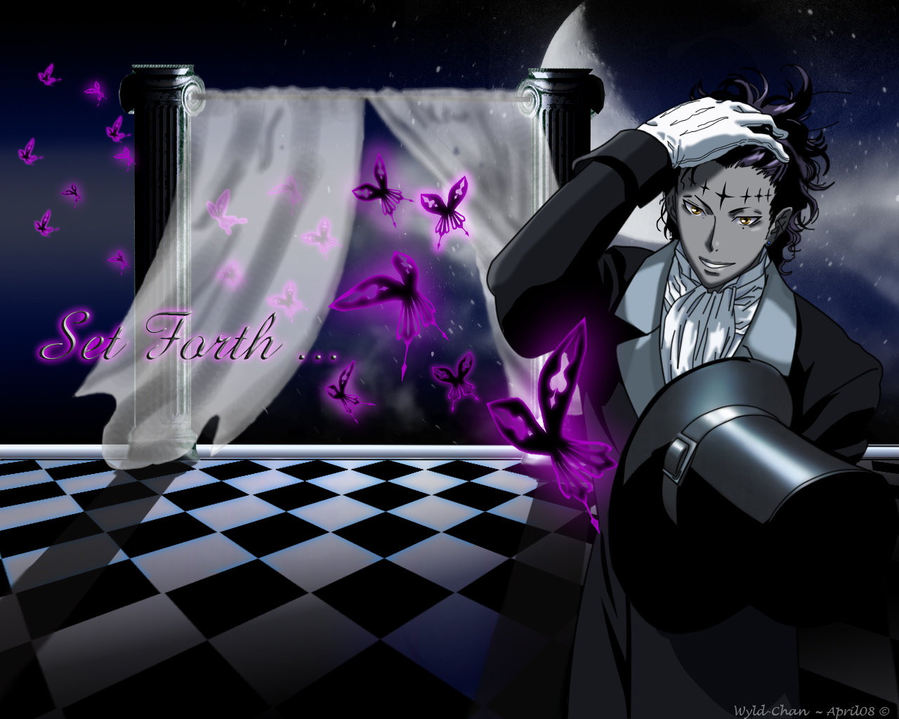 Free download D.Gray-man background ID:26941 hd 1280x1024 for computer