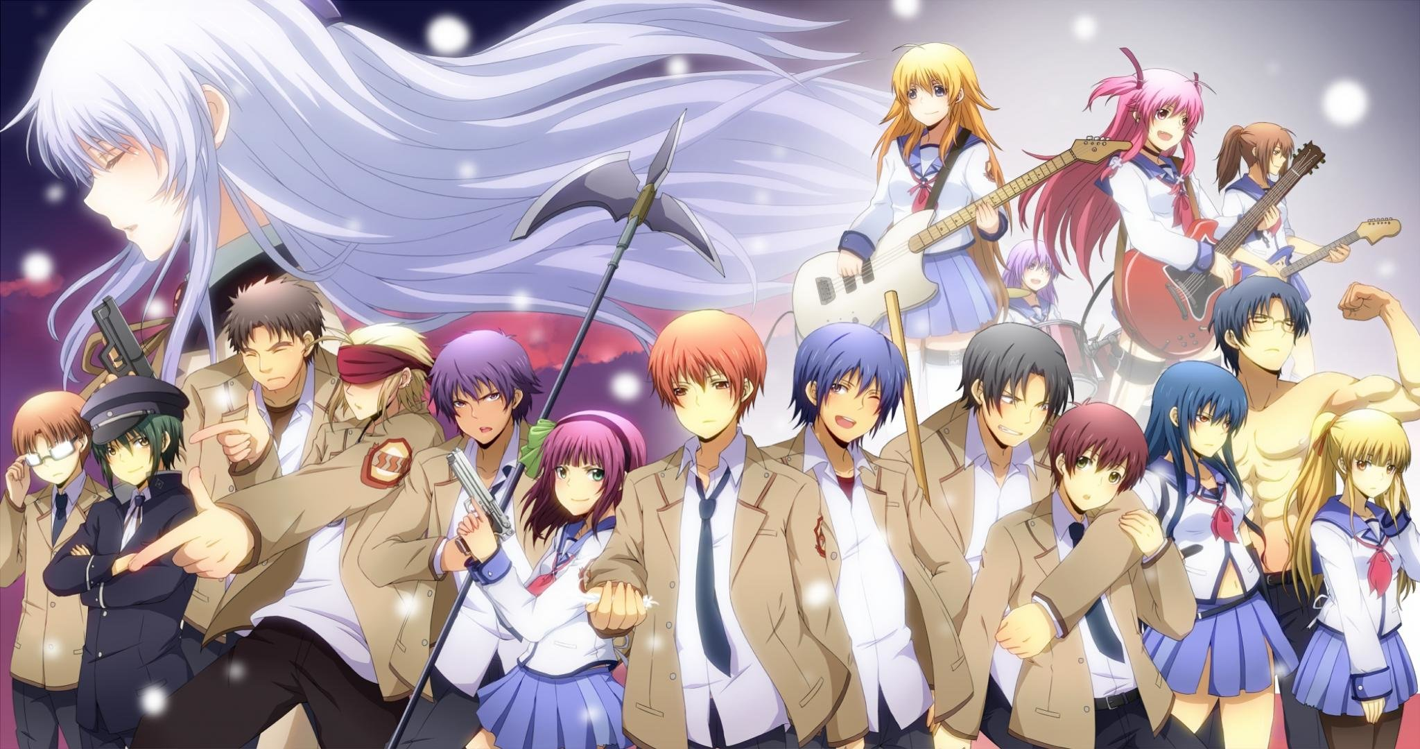 Awesome Angel Beats! free wallpaper ID:235138 for hd 2048x1080 PC