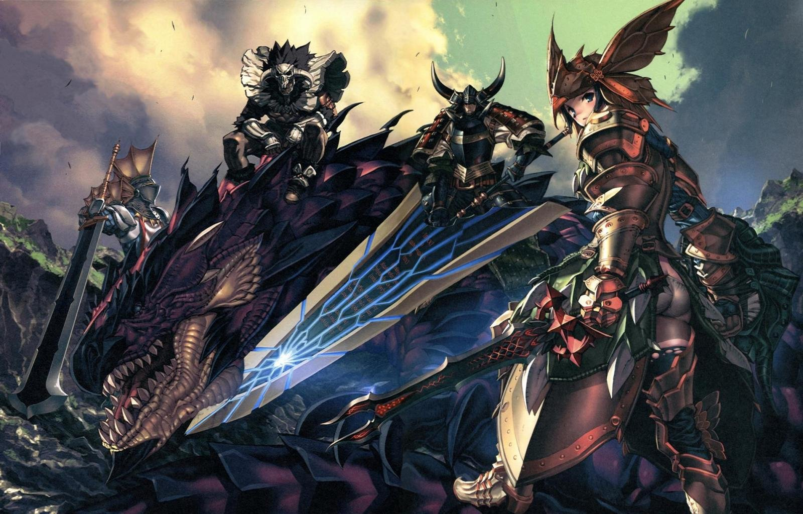 Best Monster Hunter wallpaper ID:294434 for High Resolution hd 1600x1024 PC