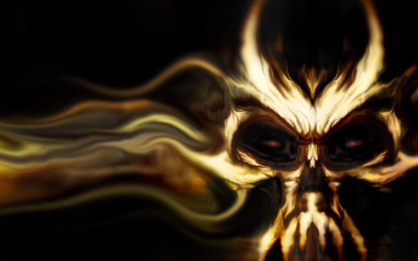 Best Skull background ID:320527 for High Resolution hd 1440x900 PC