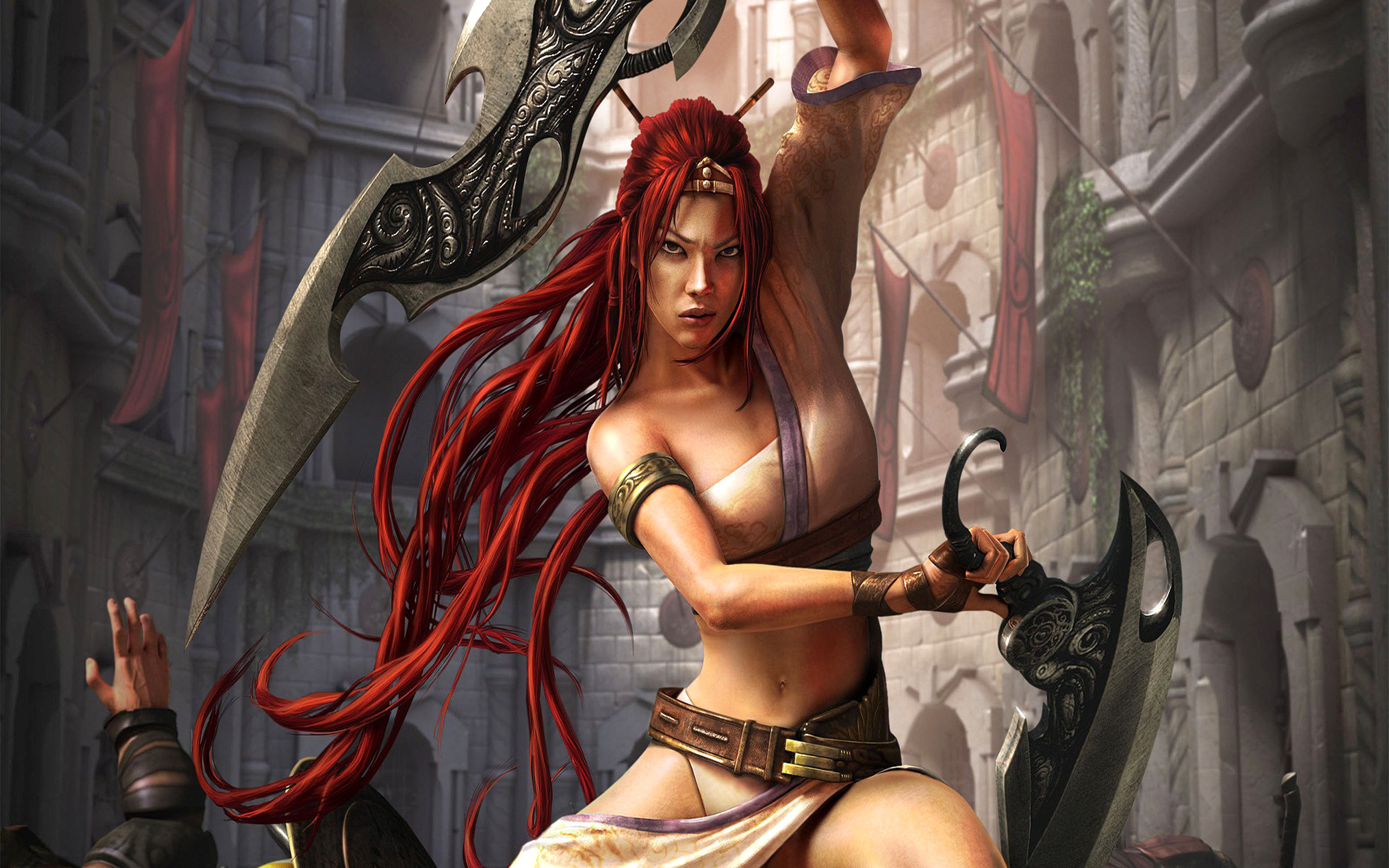 Download hd 2560x1600 Heavenly Sword computer background ID:67187 for free