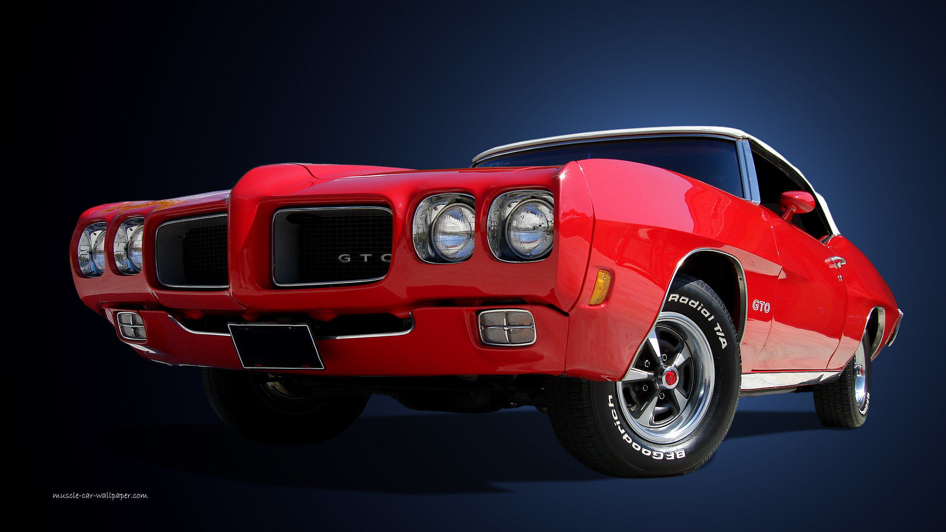 Free Download Pontiac Gto Wallpaper Id110498 1080p For Computer