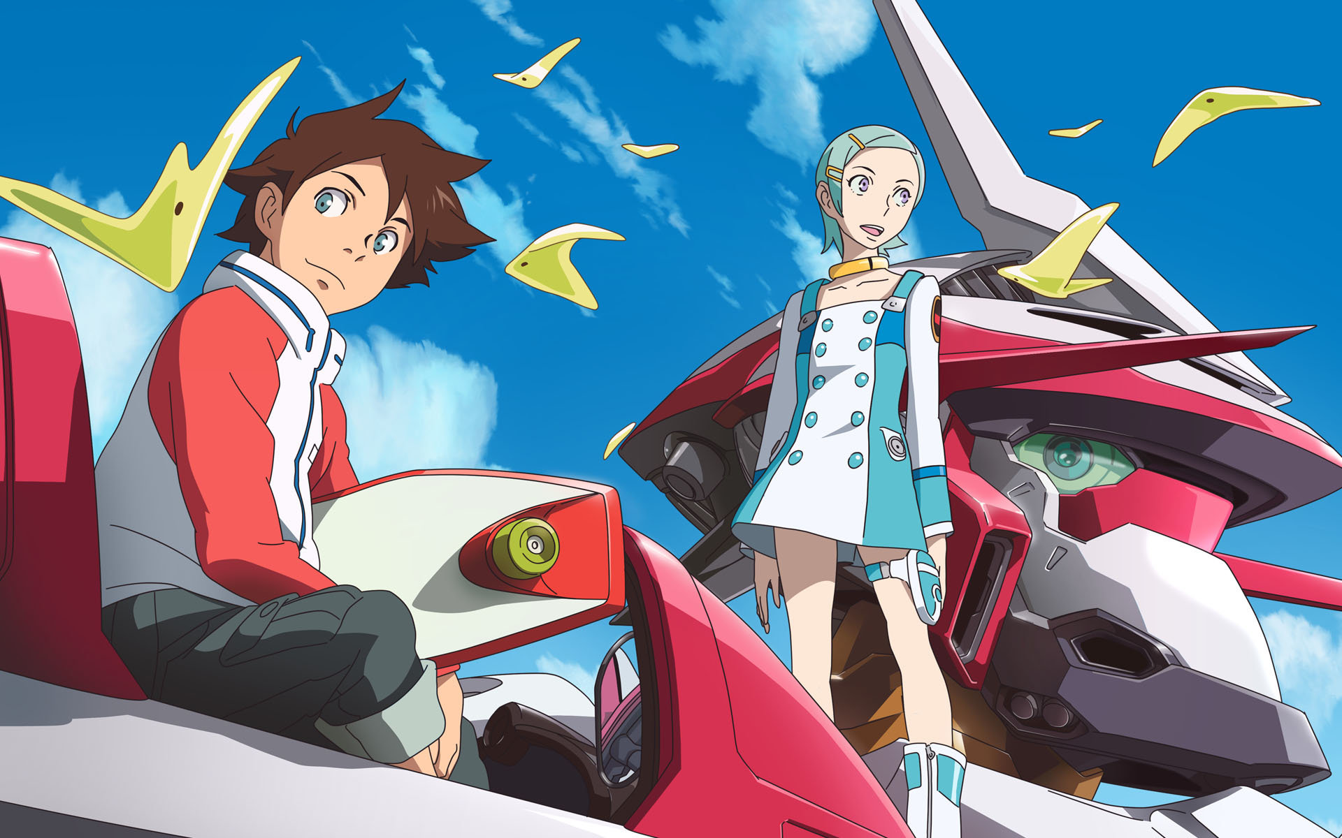 Awesome Eureka Seven free wallpaper ID:281213 for hd 1920x1200 PC