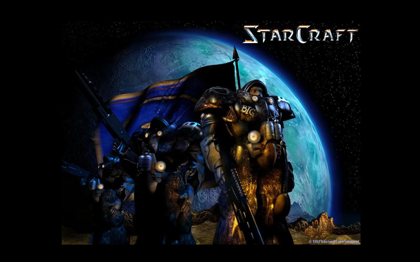 Best Starcraft 2 background ID:277170 for High Resolution hd 1440x900 computer