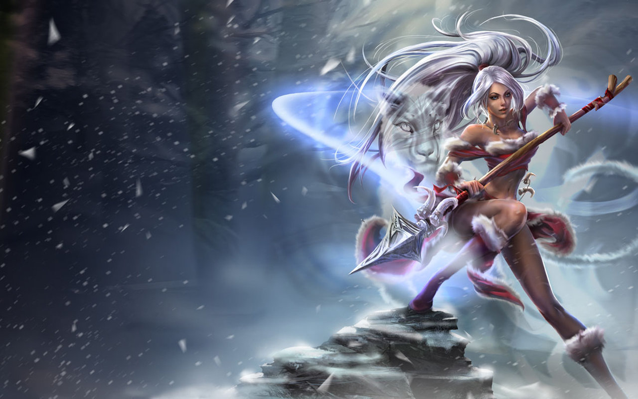 Free download Nidalee (League Of Legends) wallpaper ID:171202 hd 1280x800 for computer