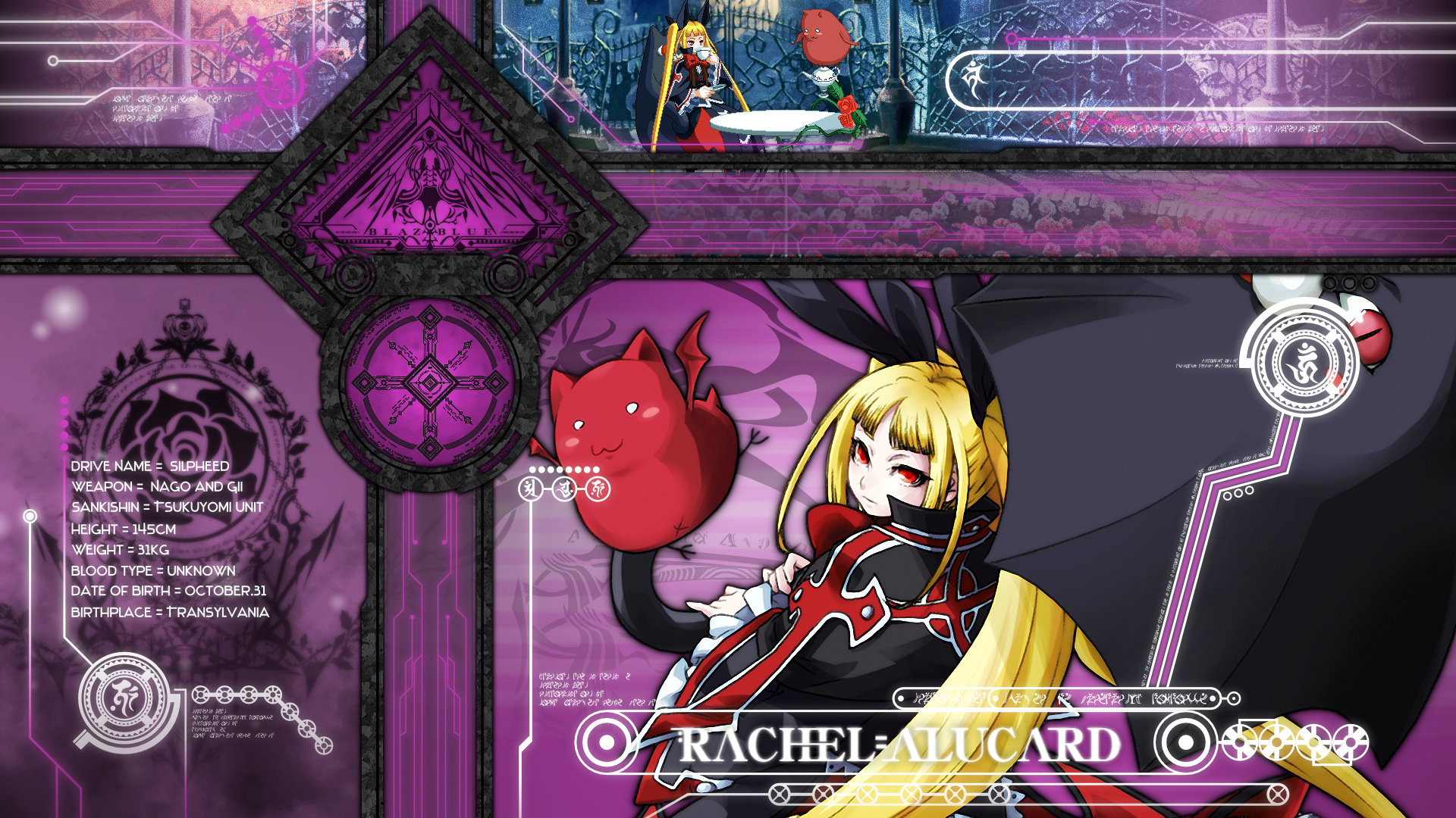 Free Blazblue high quality background ID:75061 for full hd 1080p PC