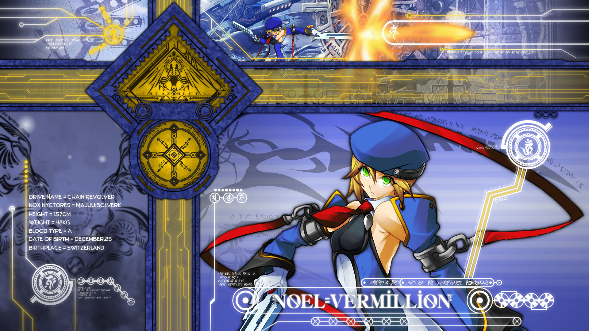 Free Blazblue high quality background ID:75217 for full hd 1920x1080 computer
