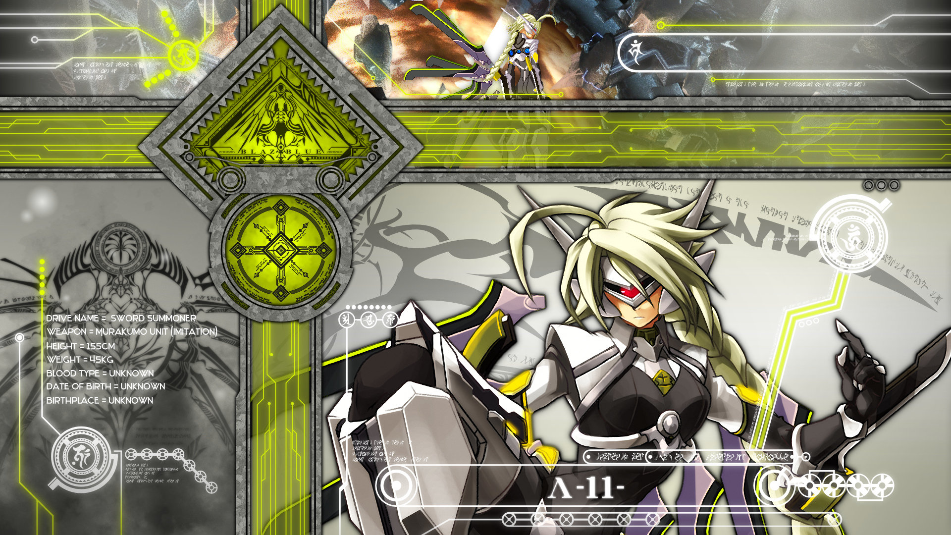 Awesome Blazblue free wallpaper ID:75103 for full hd 1920x1080 computer