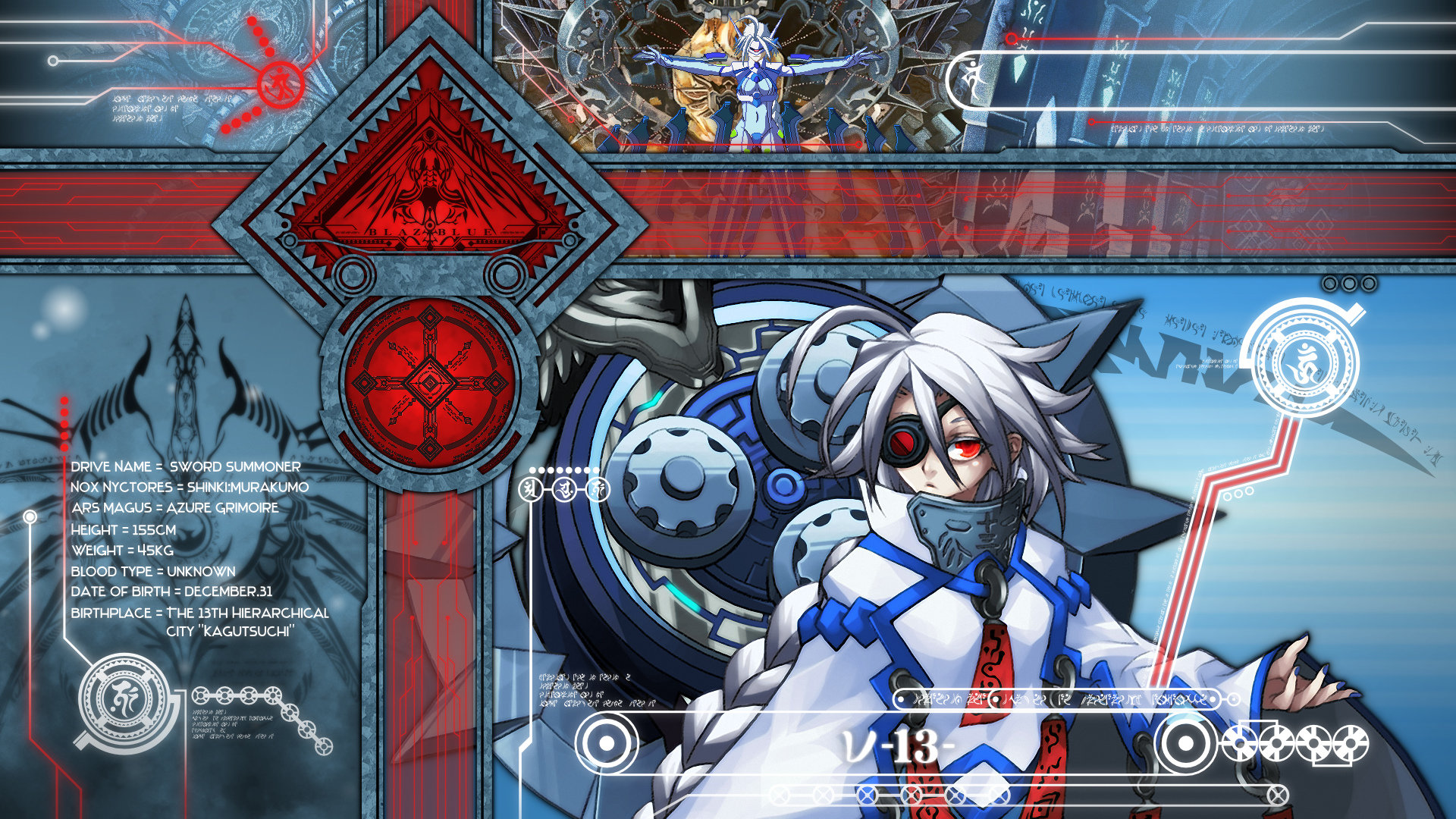 Awesome Blazblue free wallpaper ID:75197 for hd 1080p PC