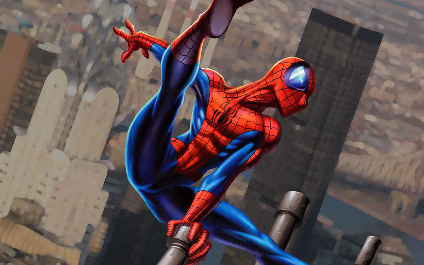 High resolution Spider-Man hd 1440x900 background ID:104251 for desktop