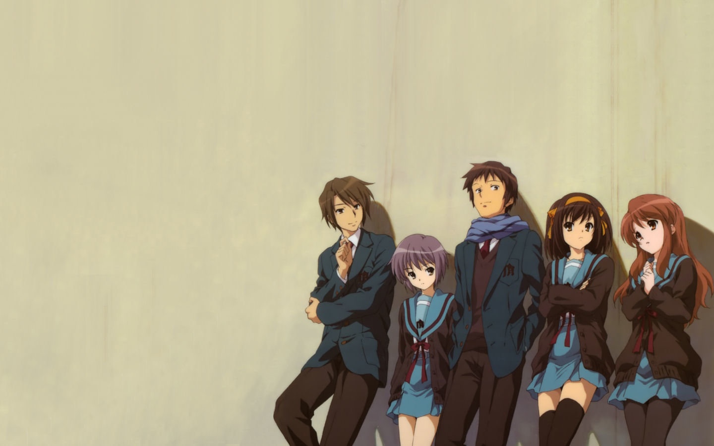 Free download The Melancholy Of Haruhi Suzumiya wallpaper ID:138973 hd 1440x900 for PC