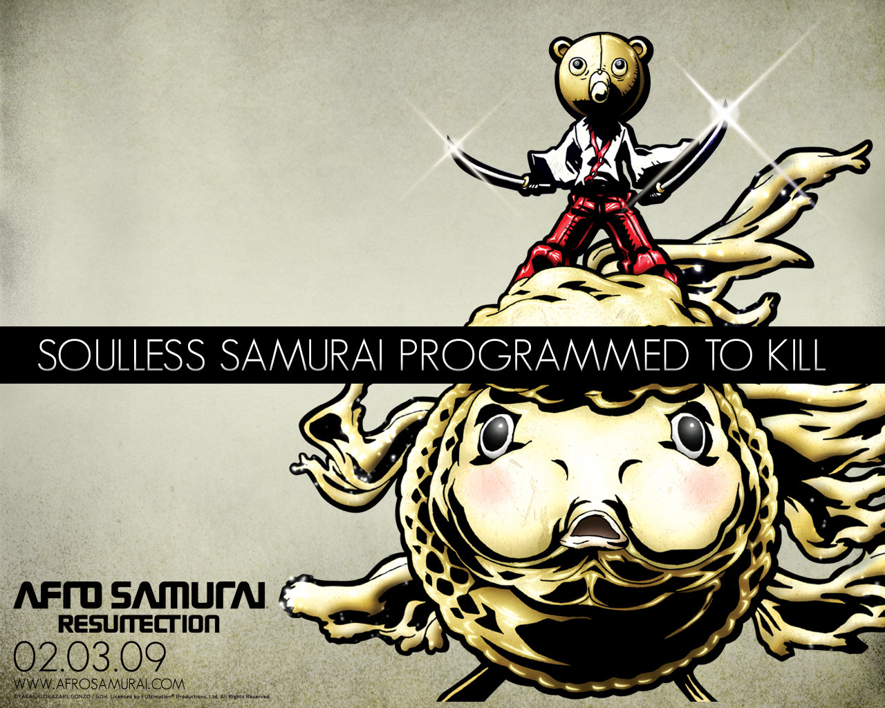 Free download Afro Samurai background ID:329130 hd 1280x1024 for desktop