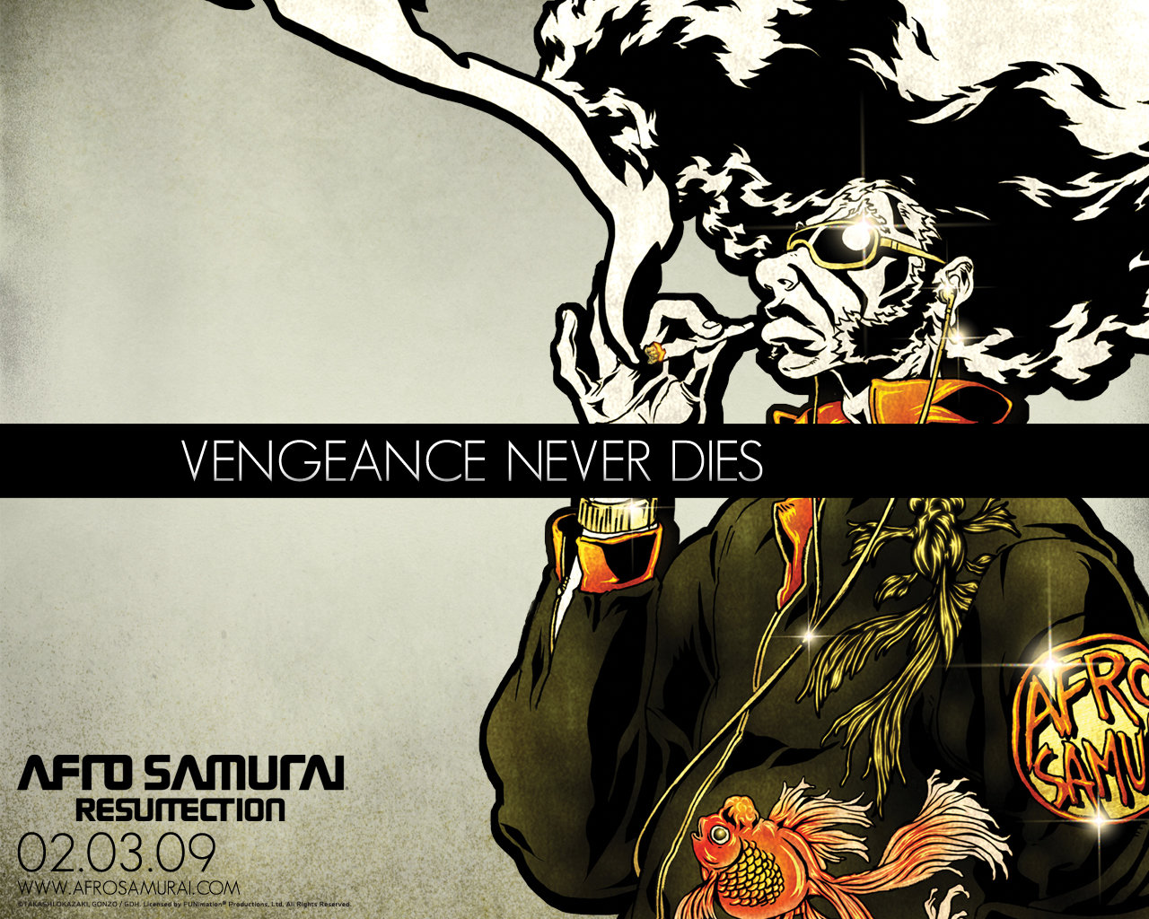 Free Afro Samurai high quality background ID:329154 for hd 1280x1024 PC