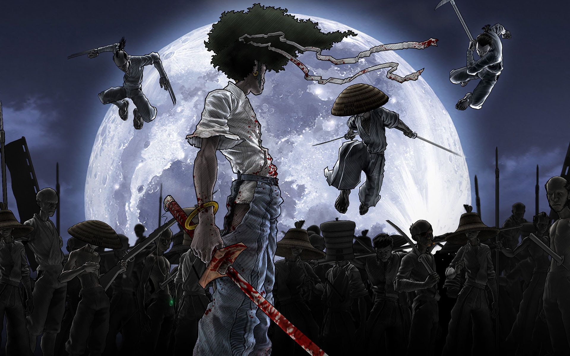 Free download Afro Samurai background ID:329117 hd 1920x1200 for computer