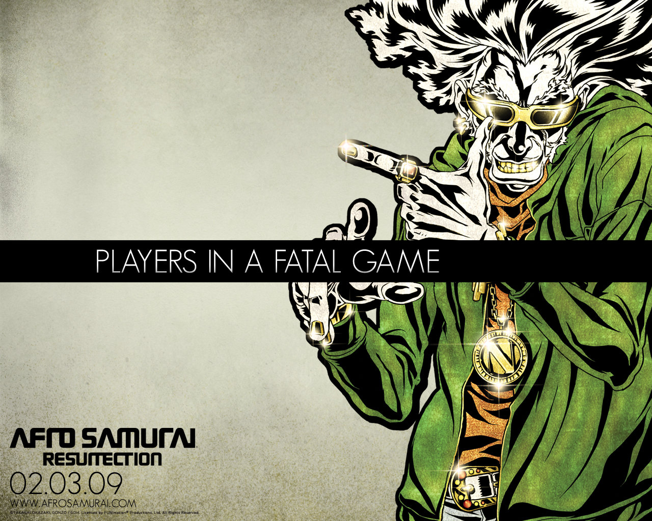Awesome Afro Samurai free wallpaper ID:329145 for hd 1280x1024 computer