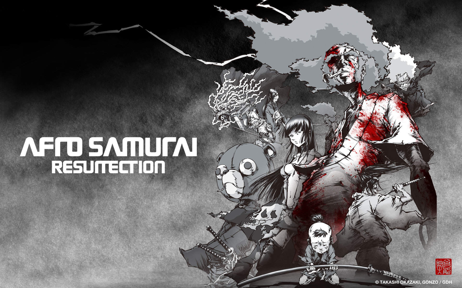 Best Afro Samurai wallpaper ID:329129 for High Resolution hd 1920x1200 computer