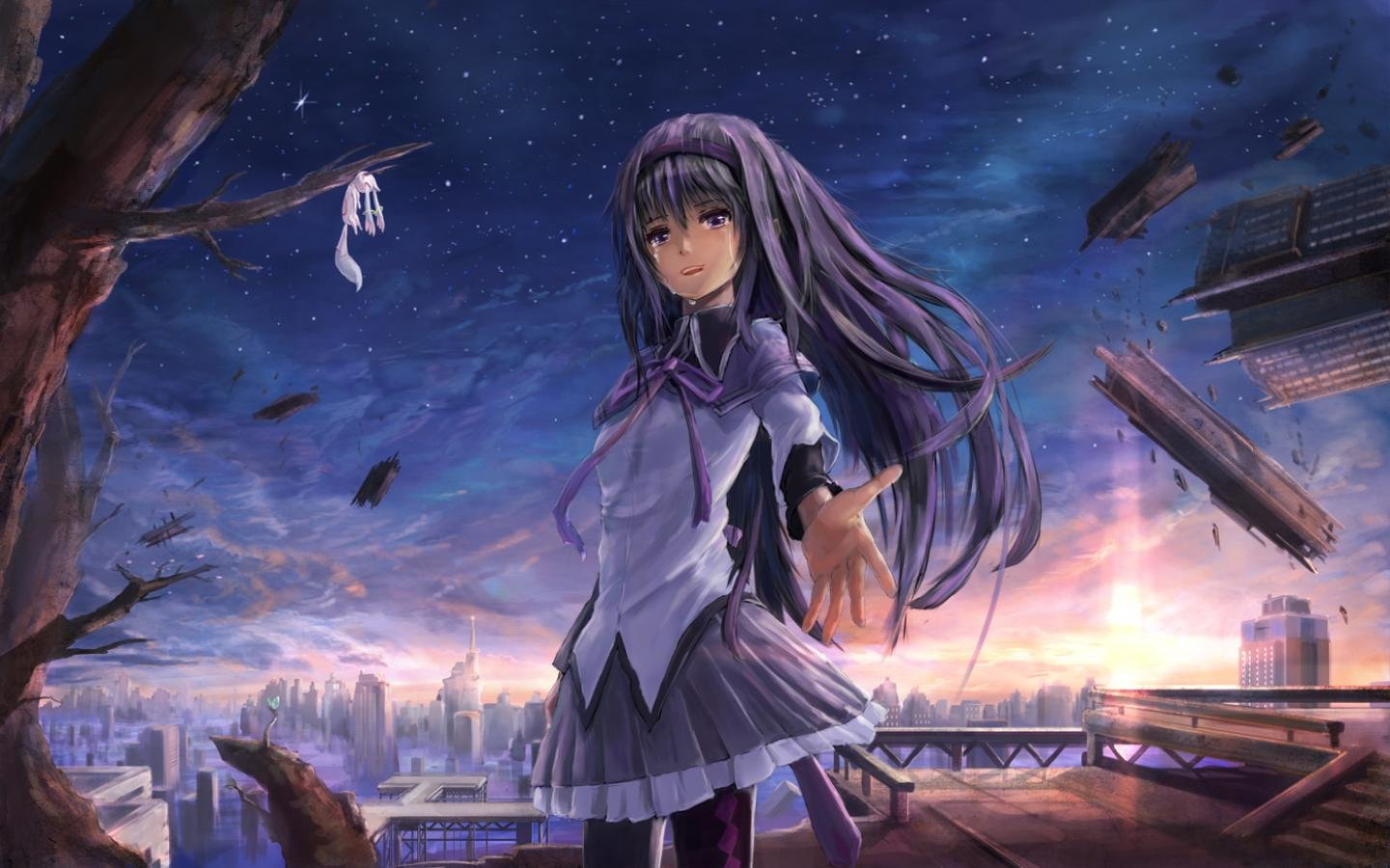 Awesome Homura Akemi free background ID:31726 for hd 1440x900 desktop