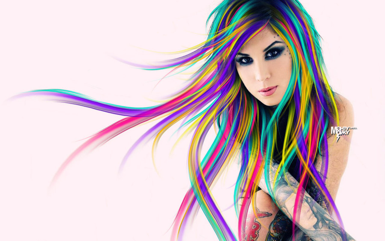 Awesome Kat Von D free background ID:103052 for hd 1280x800 computer