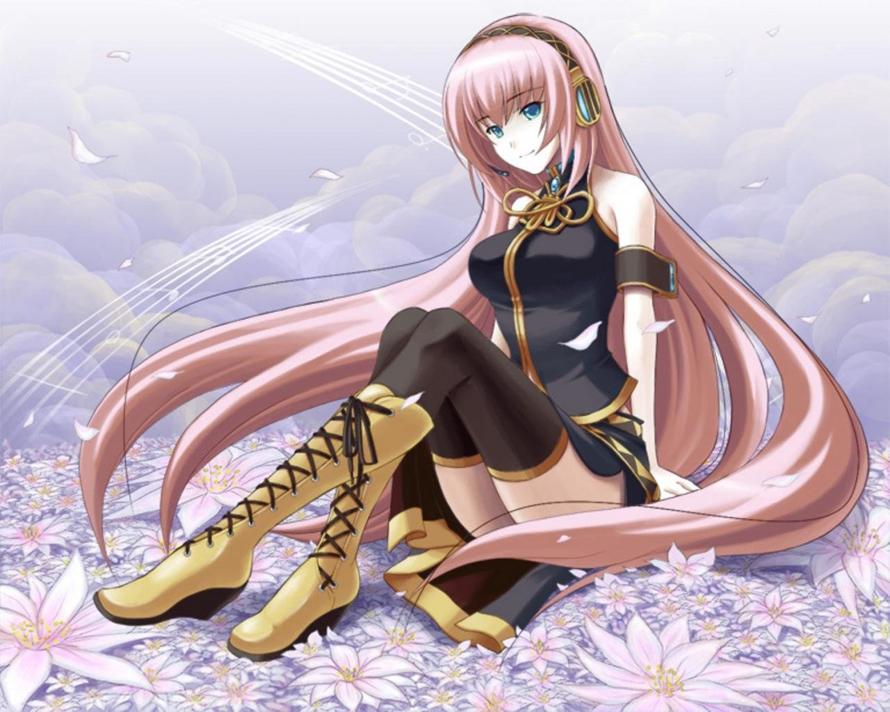 Awesome Luka Megurine free wallpaper ID:451 for hd 1280x1024 PC