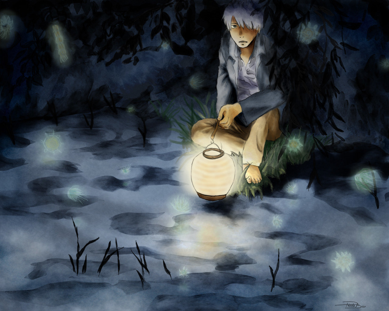 Free download Mushishi background ID:457657 hd 1280x1024 for computer