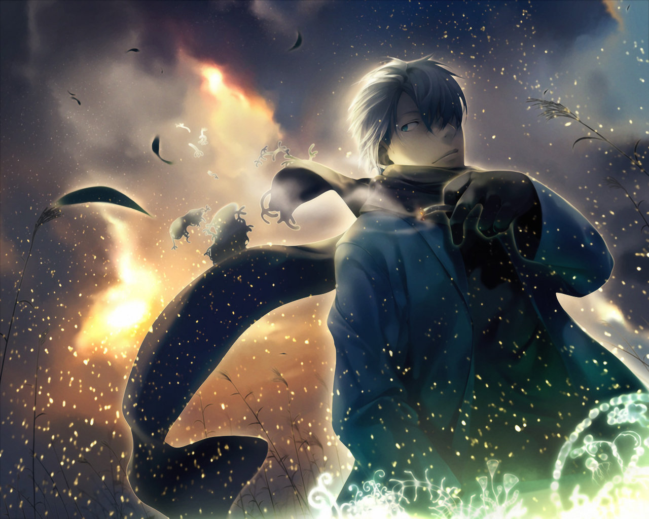 Best Mushishi background ID:457683 for High Resolution hd 1280x1024 PC