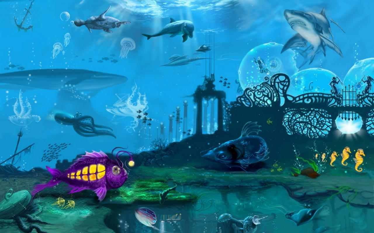 Download hd 1280x800 Sea Life (Marine) desktop background ID:163876 for free