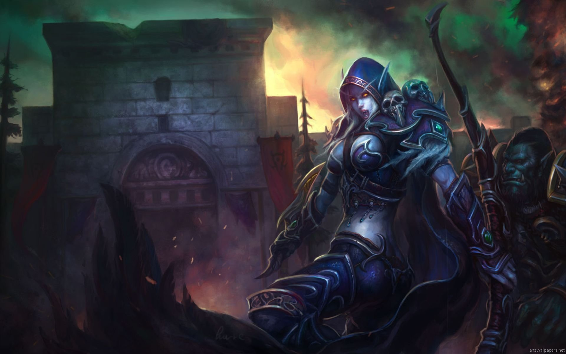 Free Sylvanas Windrunner high quality wallpaper ID:244863 for hd 1920x1200 computer