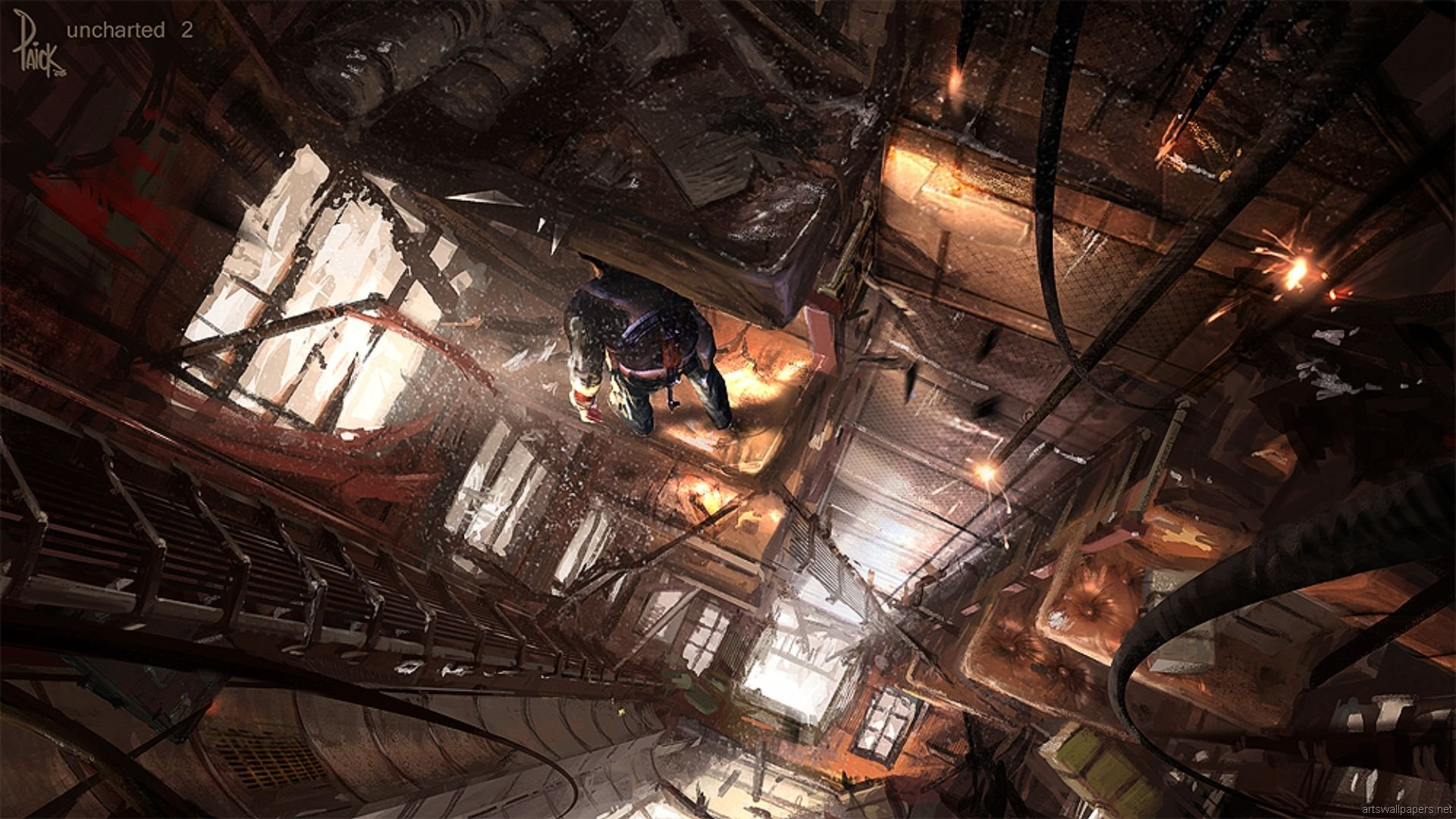 Uncharted 2 Among Thieves Wallpapers Hd For Desktop Backgrounds