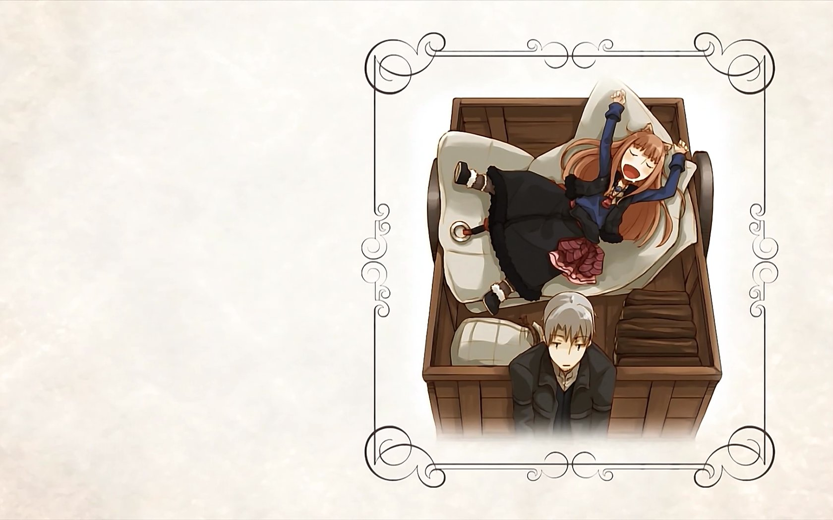 Free Spice And Wolf high quality background ID:399759 for hd 1680x1050 desktop