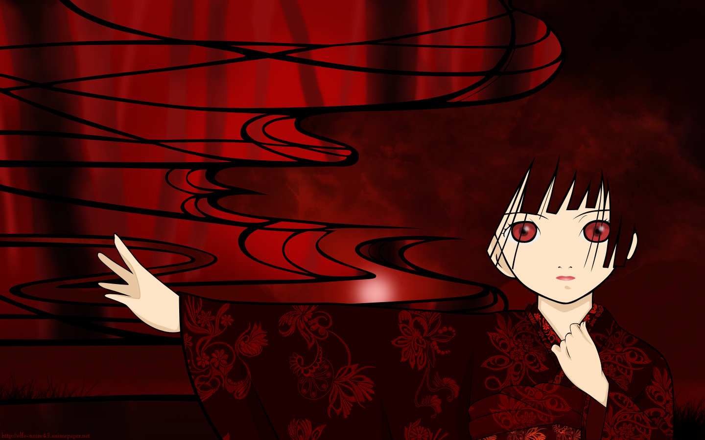 Free Jigoku Shojo high quality wallpaper ID:353870 for hd 1440x900 PC