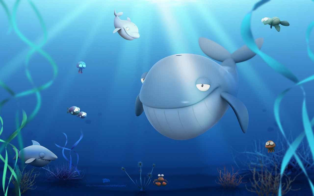 Awesome Whale free background ID:463206 for hd 1280x800 PC