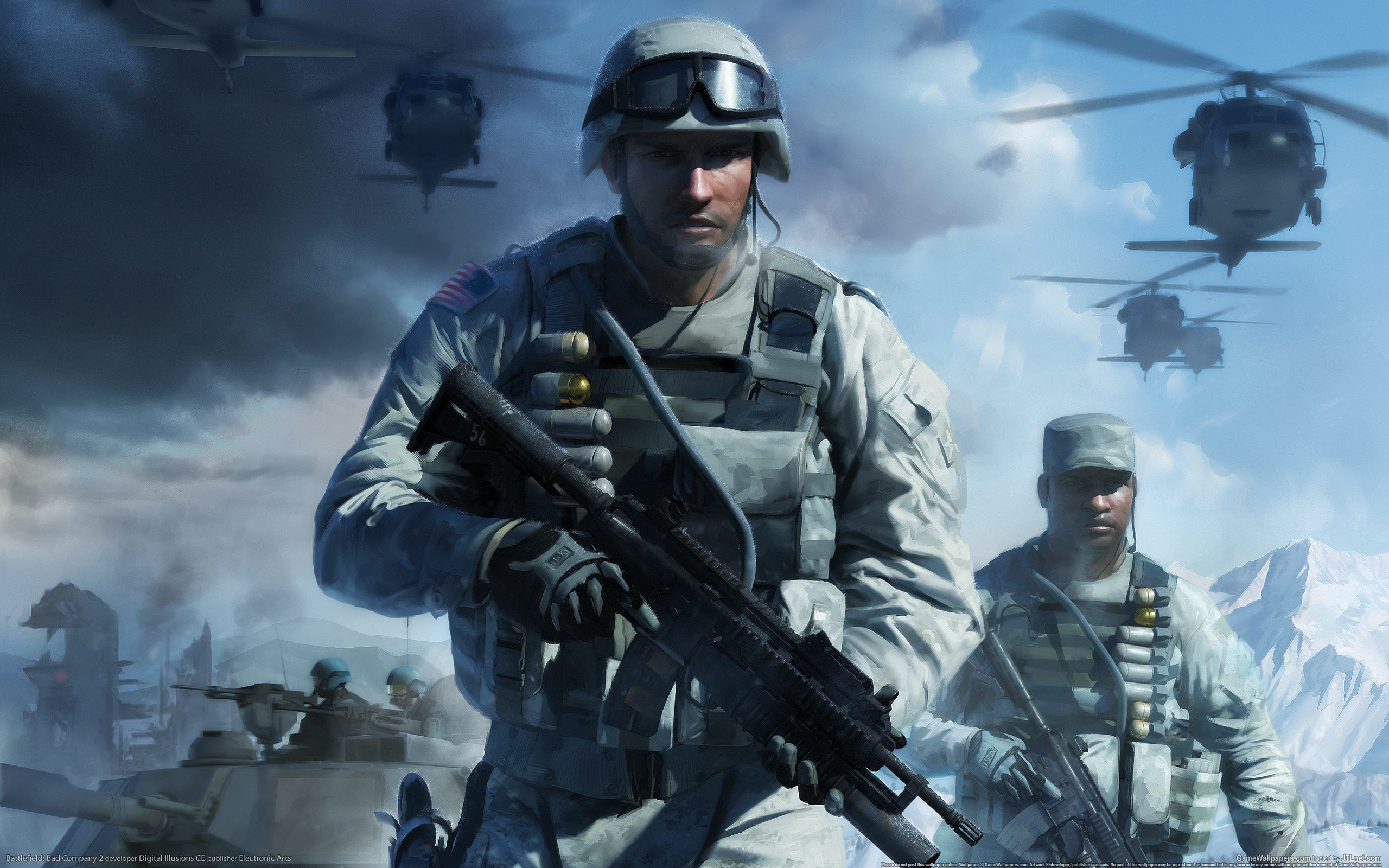 battlefield: bad company 2 wallpapers hd for desktop backgrounds