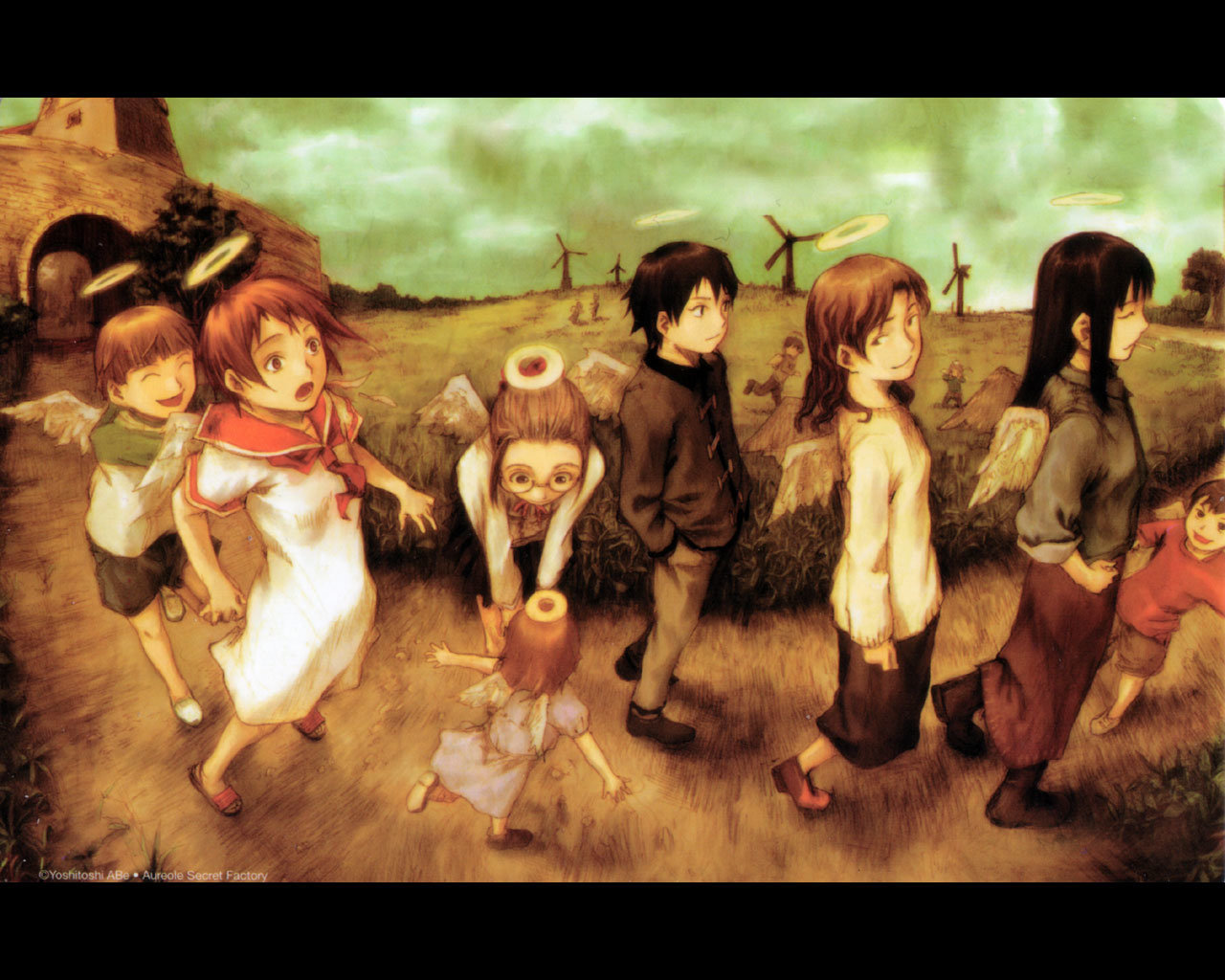 Free download Haibane Renmei wallpaper ID:467870 hd 1280x1024 for PC